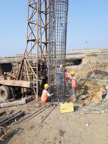 Pile Reinforcement Major bridge